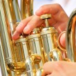 Tuba theme — Stock Photo