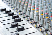 Music control panel device — Stock Photo