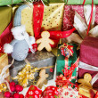 Plenty of christmas gifts — Foto de stock #13046649