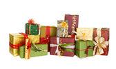 Regalos de navidad hermosa — Foto de Stock