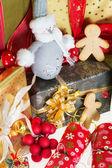 Festive presents — Stock Photo