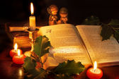 Christmas in the bible — Stock Photo