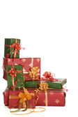 Christmas presents corner — Stock Photo