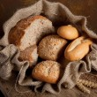 Stock Photo: Bag of bread