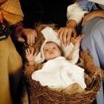 Christmas baby — Stock Photo #13332270