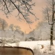 The Colors of Snow - Stock Photo