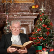 Stock Photo: Christmas story in a castle