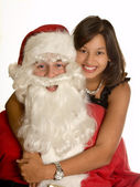 My own santa claus — Stock Photo
