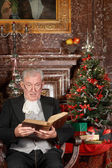 Christmas story in a castle — Stock Photo
