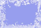 Frosty border — Stock Photo