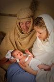 Holy family — Stock Photo