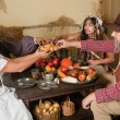 Thanksgiving dinner — Stock Photo #13603532