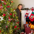 Christmas at home — Stock fotografie