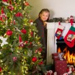Foto Stock: Christmas at home