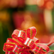 Christmas presents with ribbons — Stock Photo #13669655