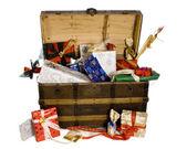 クリスマス箱 — ストック写真