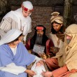 Visit of the wisemen — Stock Photo
