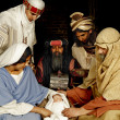 Nativity with wisemen — Stock Photo #13829207