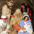Wisemen christmas scene — Stock Photo #13829240
