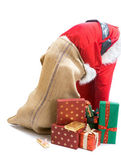 Santa ne peut pas trouver un cadeau — Photo