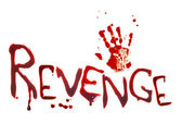 Bloody revenge — Stock Photo