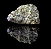 Olivine mineral rock — Stock Photo
