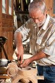 Woodwork carpenter — Stock Photo