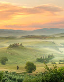 Morning in Tuscany — Stock Photo