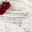 Bridal music - Stock Photo