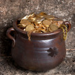 Rustic pot — Stock Photo