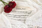 Bridal music — Stock Photo