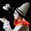 Surprise for Pierrot — Stock Photo