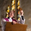 Sunday Mass Preacher — Stock Photo