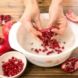 ������, ������: Pomegranate seeds in water