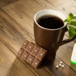 Stevichocolate and coffee — Stock Photo #21708341