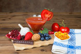 Antioxidants on the table — Stock Photo