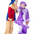 Gossip clowns — Stock Photo #22504441