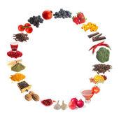 Healthy antioxidants — Stock Photo