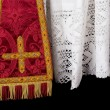 Stock Photo: Vestment closeup