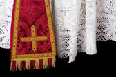 Vestment closeup — Stock Photo