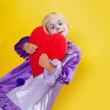 Stock Photo: Big heart for mothers' day