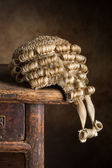 Court wig — Stock Photo