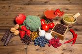 Fresh antioxidants — Stock Photo