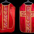 Stock Photo: Antique chasuble
