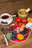 Antioxidant plate — Stock Photo