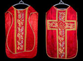 Antique chasuble — Stock Photo