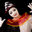 Stock Photo: Happy Pierrot