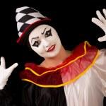 Happy Pierrot — Stock Photo