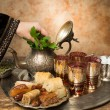 Arabian hospitality — Stock Photo #25827943