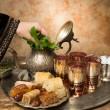 Arabian hospitality — Stock Photo
